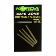 Korda Anti Tangle Hooklink Sleeves - 25 pieces / Antienrredos Weed / Verde Alga