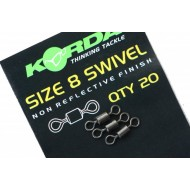 Swivels size 8 - 20 pcs