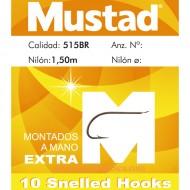 ANZUELO MUSTAD MONTADO Nº10