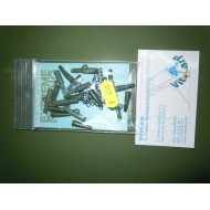 KIT SAFETY 10X TAIL RUBBER , 10SAFETY LEAD CLIP, 10XSTANDARD BARREL ROLLING SWIVEL KIT DE CONO, QUITAVUELTAS Y CLIC