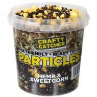 Crafty Catcher Particles Hemp & Maize 1,1ltr ( PVA Friendly)