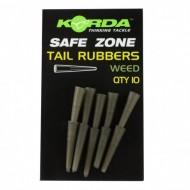 Korda Safe Zone Rubbers – 10 pieces Weed / Verde Alga