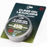 Nash Cling-On Leadcore 45Lb Weed Green 7m