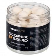 Nash Scopex Squid Pop Ups 15mm White (75g)