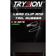 TRYBION LEAD CLIP AND TAIL RUBBER VERDE