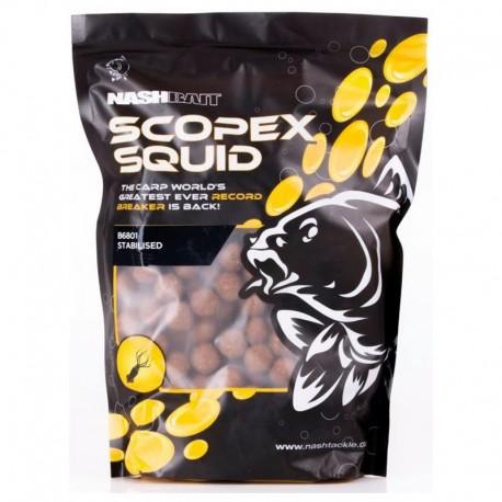 Nash Scopex Squid Stabilised Boilies 24mm 1kg