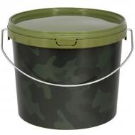 NGT Cubo 3.0 L Round Camuflaje con asa metal